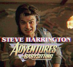 #SteveHarrington #strangerthings