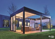 Pergola systems by Pratic
