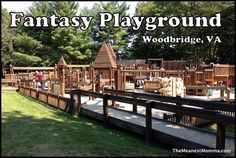 """I had heard about the """"Fantasy Playground"""" for years, but had never made the trek down to Woodbridge to check it out. Finally, on the last week of summer vacation, I drove down with my crew (ages ..."""