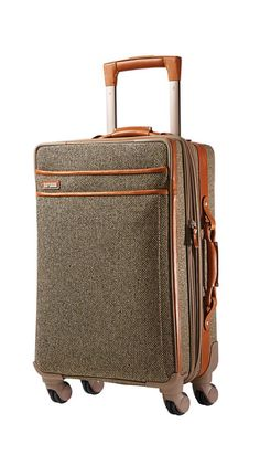 Hartman Tweed Carry-On. Classic luggage.