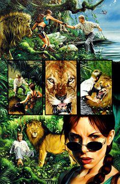Tomb Raider / The Greatest Treasure of All 4 / 2000 (Joe Jusko)