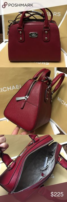 🌴Michael Kors Purse🌴 100% Authentic Michael Kors Purse, brand new with tag!😍😍😍color 🍒 Michael Kors Bags Crossbody Bags