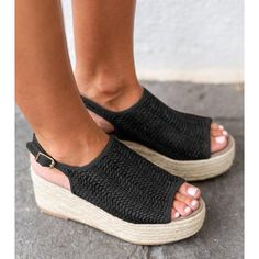 03f06274b49 Buy Sandals For Women at JustFashionNow. Online Shopping JustFashionNow  Women s Sandals Black Platform Sweet Buckle