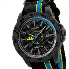 Valentino Rossi's Classic #VR46 Watch just revved up the SALE! NOW £79.99 https://allstarsdirect.co.uk/collections/clearance/products/valentino-rossi-vr46-45mm-watch-black-strap-official-2016