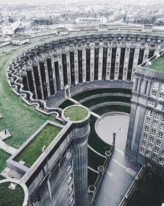 Northskull Inspiration | Les Espaces D'Abraxas designed by architect Ricardo Bofill. #France #architecture #design