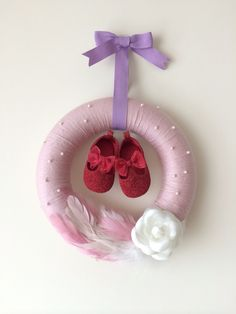 Baby girl Wreath
