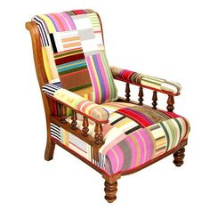 A Kelly Swallow chair.    Achica.com