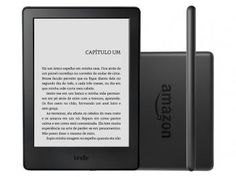 "Kindle 8ª Geração Amazon Tela 6"" 4GB Wi-Fi - Preto"