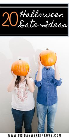 Halloween Date Night ideas that range from creepy to cute scary to sweet. These date night ideas are perfect for the Halloween season!