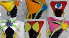Gorro negrita Crazy Hats, Mad Hatter Tea, Mardi Gras, Party Time, Tea Party, Costumes, How To Make, Diy, Crown