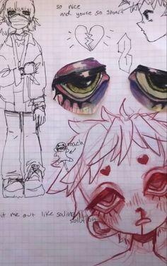 Art Drawings Sketches Simple, Cute Drawings, Pretty Art, Cute Art, Cartoon Art Styles, Hippie Art, Art Reference Poses, Art Sketchbook, Aesthetic Art