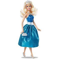 Barbie Princesa - Vestido Azul - Mattel