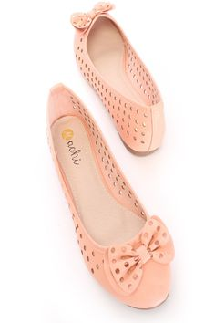 Looking for a pair of comfortable shoes for work or an interview? These are the perfect flats for any occasion! Super comfy and on-trend, our stylish flats are just right for you! It features faux leather, perforated, bow accent, almond closed toe, scoop vamp, smooth lining, and cushioned footbed.