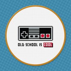 (10) Name: 'Embroidery : Nintendo Controller PDF Cross Stitch