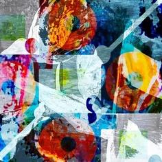 'Digitale Herbstblüten' von Peter Norden bei artflakes.com als Poster oder Kunstdruck $20.79