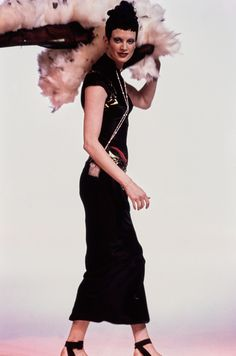 John Galliano Spring 1993 Ready-to-Wear Fashion Show - Kristen McMenamy