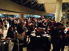 A great crowd at Eat to the Beat at Roy Thomson Hall to support Canadian Breast Cancer Foundation