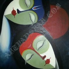An Abstract Figurative Painting