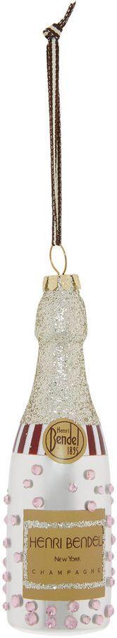 Henri Bendel Bubbly Champagne Ornament #ad