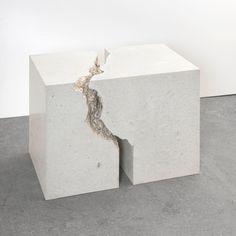 """Main Section   Christoph Weber """"Untitled (Gegenstück)"""" 2015 Courtesy Galerie Jocelyn Wolff Paris, Candle Holders, Candles, Sculpture, Instagram Posts, Minimal, Montmartre Paris, Paris France, Porta Velas"""