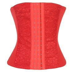 Ya Lida Sexy corset abdomen girly Corset Bustier Red G-String XS-6XL. Imported. Shapewear for women,trimming waist, tummy and hips,Special and modern design makes you more attractive, fashion and chic!. Special and modern design makes you more attractive, charming, fashion and chic!. BEFORE ORDERING:We are not standard US size, don't use amazon size chart. Please ignore the sizes on tags because they are for Asians,Scroll down for more product information and wearing tips.