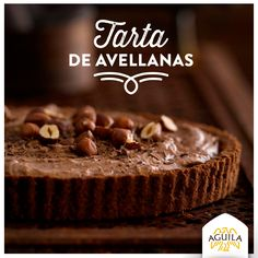 Tarta de avellanas #Chocolate