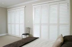 The simplicity of a quality plantation shutter! Plantation shutters from Half Price Shutters Enterprises: http://www.spec-net.com.au/press/0109/hps_070109.htm #specnetloves #plantation #shutters #design #interior #modern #musthave