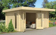 Chameleon 44 log cabin, garden office, Log Cabins for sale, Free Delivery