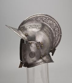 Helmet Place of creation: Western Europe Date: 17th century Material: steel Technique: chased.