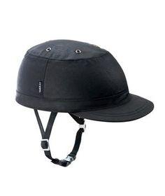 Yakkay Helmet: Don a protective black PVC shell helmet that disguises itself as a stylish cap.