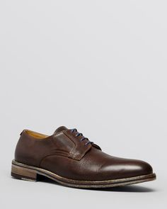 Modern Fiction Leather Plain Toe Oxford