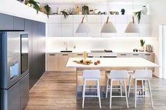 Darren Palmer's house: new kitchen tour! - The Interiors Addict The Block Kitchen, New Kitchen, Kitchen Ideas, Kitchen Reno, Country Kitchen, Contemporary Interior Design, Modern Kitchen Design, Modern Kitchens, Celebrity Kitchens