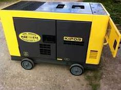 This is a small 15kva silent generator. Used for events.