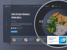 Food Recipe Website by Riko Sapto Dimo