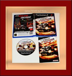The Fast and the Furious für Playstation2,PS2,in OVP!Ansehen!