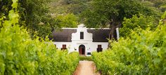 A Cape Dutch Style House in Paarl South Africa