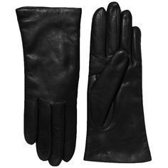 Saks Fifth Avenue Collection Cashmere-Lined Leather Gloves ($98) ❤ liked on Polyvore featuring accessories, gloves, black, fillers, apparel & accessories, black gloves, leather cashmere gloves, black cashmere gloves, lined leather gloves i long gloves