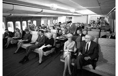 Como era viajar de avião em 1960 (Foto: Reprodução/Pan Am Historical) http://glo.bo/1djSXeO