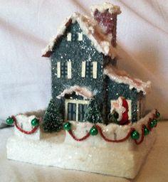 little glitter house to make