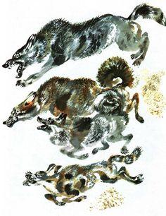 Illustrations by Nikita Charushin and Eugene Charushin