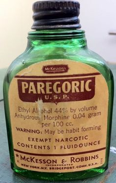 Photo: Over the Counter Morphine May be habit forming (Ya think?)