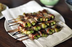 asparagus wrapped with bacon by ila betapi, via Flickr