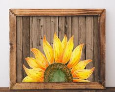 Check out our rustic home decor selection for the very best in unique or custom, handmade pieces from our signs shops. Sunflower Nursery, Sunflower Room, Sunflower Kitchen Decor, Anchor Pictures, Sunflower Pictures, Outdoor Wall Art, Nautical Wall Decor, Painted Rocks Kids, Watercolor Sunflower