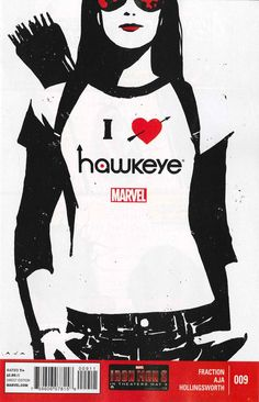 David Aja, 2013. Even though this is still relatively new, it might be one of my top ten favorite covers. -Darkhearst. #Hawkeye #Avengers #comicbookart #Marvel #davidaja