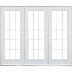 Triple French Patio Doors Patio Door Inspiration Pinterest - Triple patio door