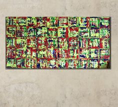 Gemälde Abstrakt Acrylbilder Leinwand Unikat Bilde von Kunstgalerie Winkler auf DaWanda.com