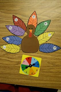 Krazy for Kindergarten Goes to 3rd!: November Math Stations... plus a few extras!