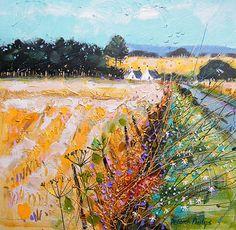 contemporary Scottish artist Deborah Phillips-Road to Dornoch
