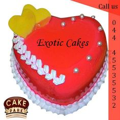Looking for #Exotic #cakes? Our cake shop have #Choco #fanatic, #white #forest, black forest, choco drynut, rich chocolate  and more!.   Visit us: http://www.cakepark.net/ Express Booking : 044-45535532