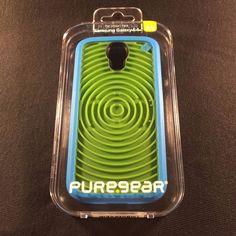 Puregear Samsung Galaxy S4 Retro Game Case - Groovy Blue and Green 60170PG #PureGear Blue And Green, Samsung Galaxy S4, Galaxies, Apple Watch, Retro, Cases, Ebay, Retro Illustration, Mid Century